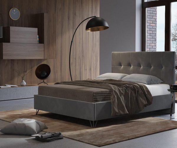 מיטה מרופדת מאדים
